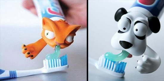 Pet Vomit Toothpaste Dispenser