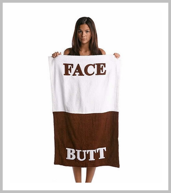 Face/Butt Towel