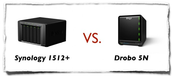 Synology DS1512+ vs Drobo 5N
