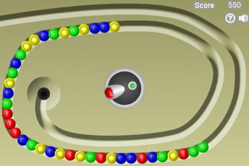 Marble Lines Game
