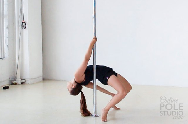 Beginner Pole Dance Moves