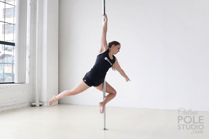 Intermediate Pole Dance Moves