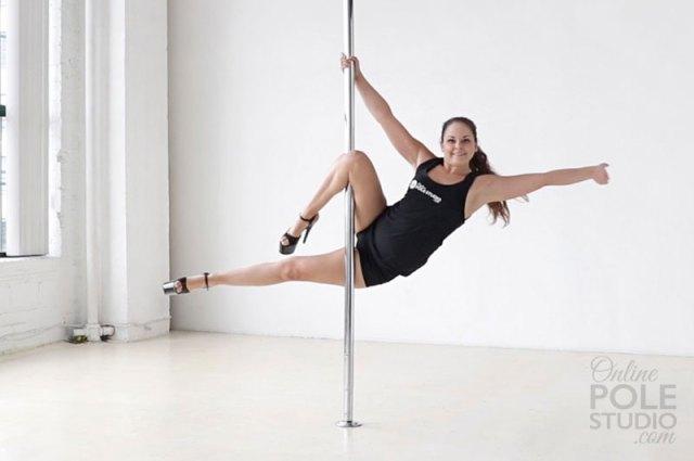 Beginner Pole Dance Moves