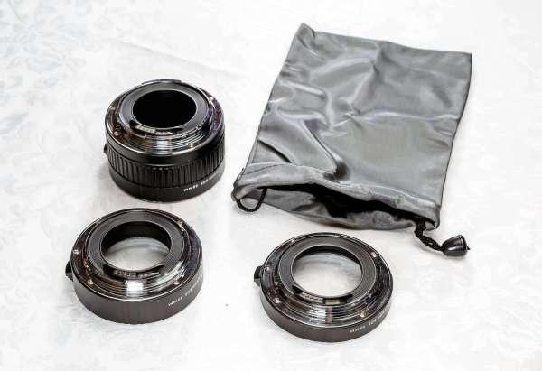 Набор удлинительных колец JJC AET-CS для Canon EOS (12mm ...