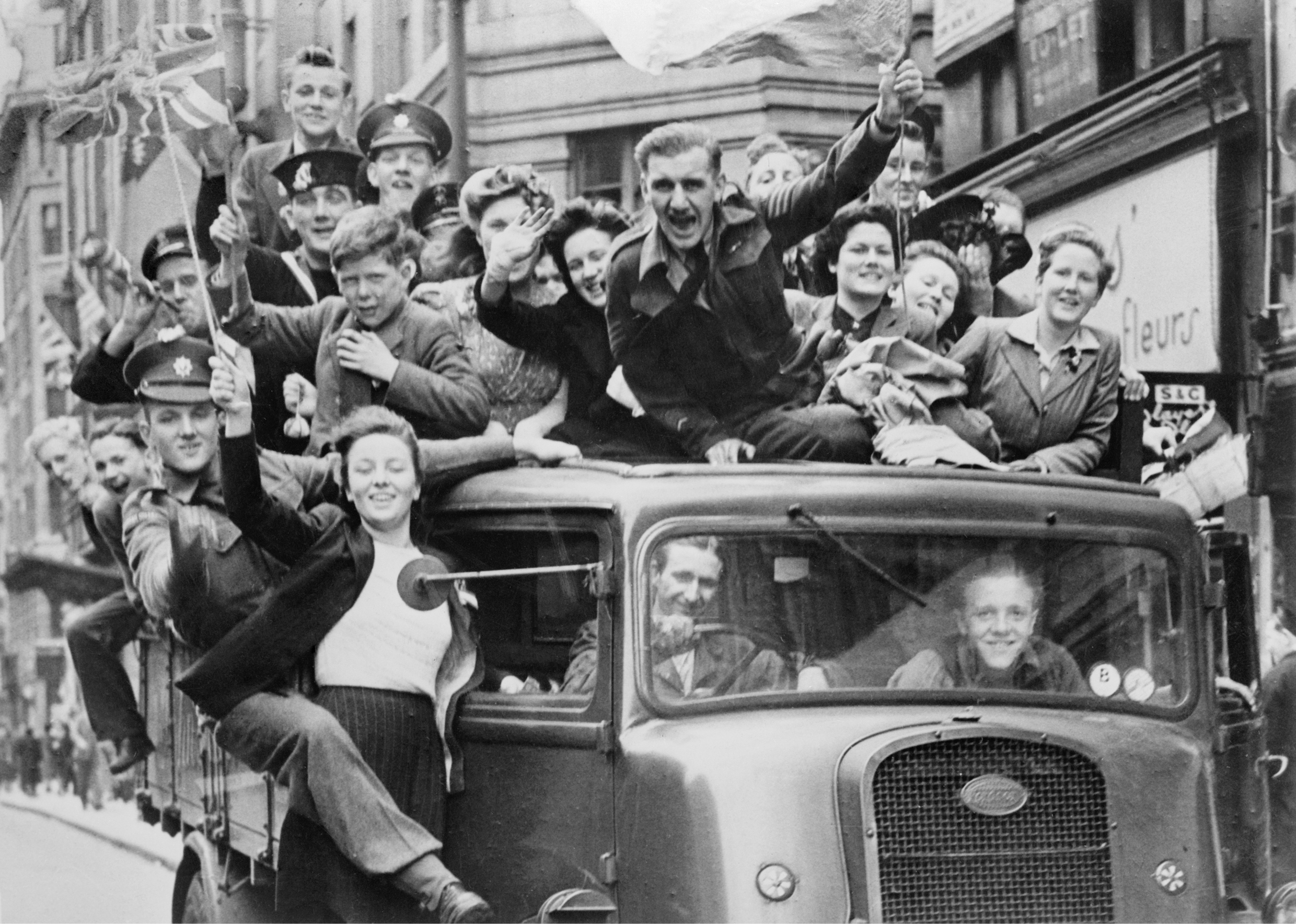 Victory In Europe Day How World War Ii Changed The Uk
