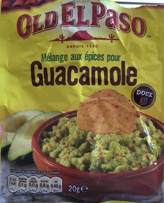 melange aux epices pour guacamole old