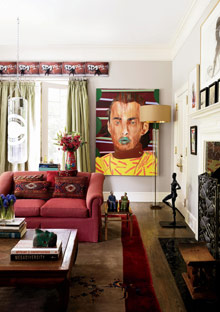 Peggy Cooper Cafritz living area