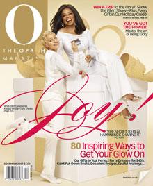 Oprah and Ellen O Magazine cover