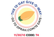 O's 12-Day Holiday Give-O-Way Sweepstakes nov 30 icon