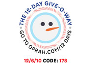 O's 12-Day Holiday Give-O-Way Sweepstakes december 6 icon