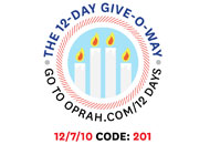 O's 12-Day Holiday Give-O-Way Sweepstakes december 7 icon