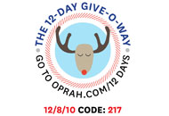 O's 12-Day Holiday Give-O-Way Sweepstakes december 8 icon