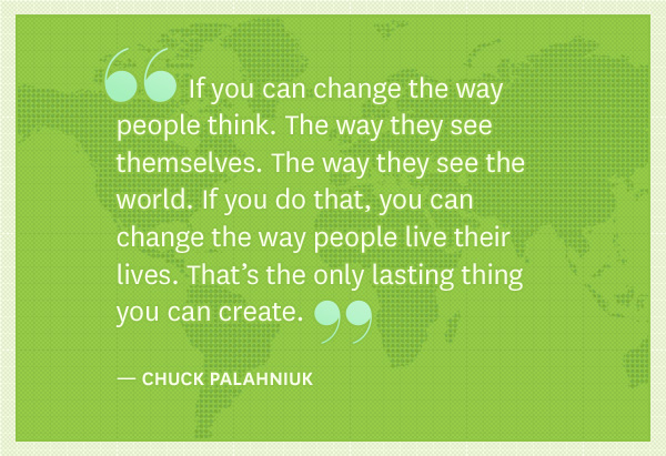 Chuck Palahniuk quote