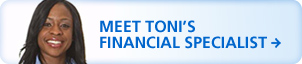 Meet Toni's Financial Specialist