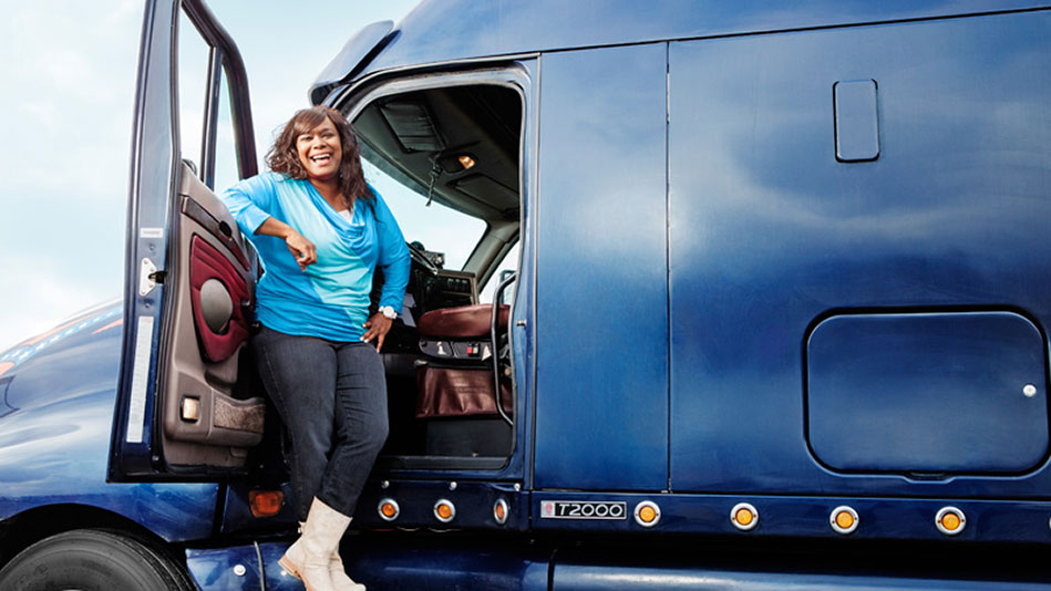 Shannon Sputter Smith Female Truckers