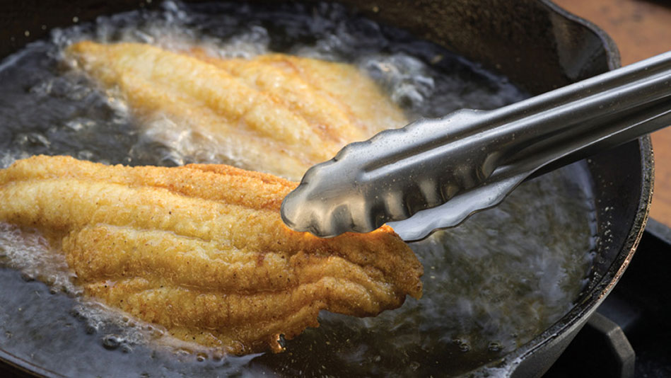 Frying Catfish Cornmeal