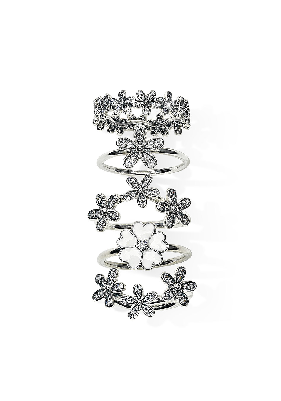 Dazzling Daisy And Primrose Rings