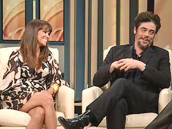 Halle Berry And Benicio Del Toro