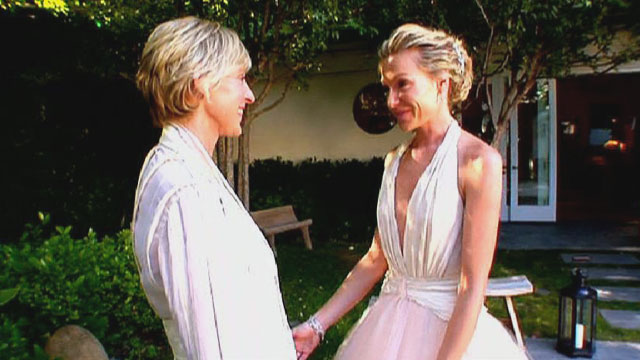 Ellen And Portia's Wedding
