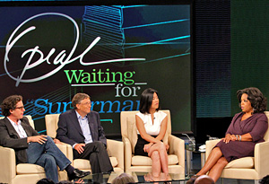 Waiting for Superman, Davis Guggenheim, Michelle Rhee, Bill Gates on Oprah
