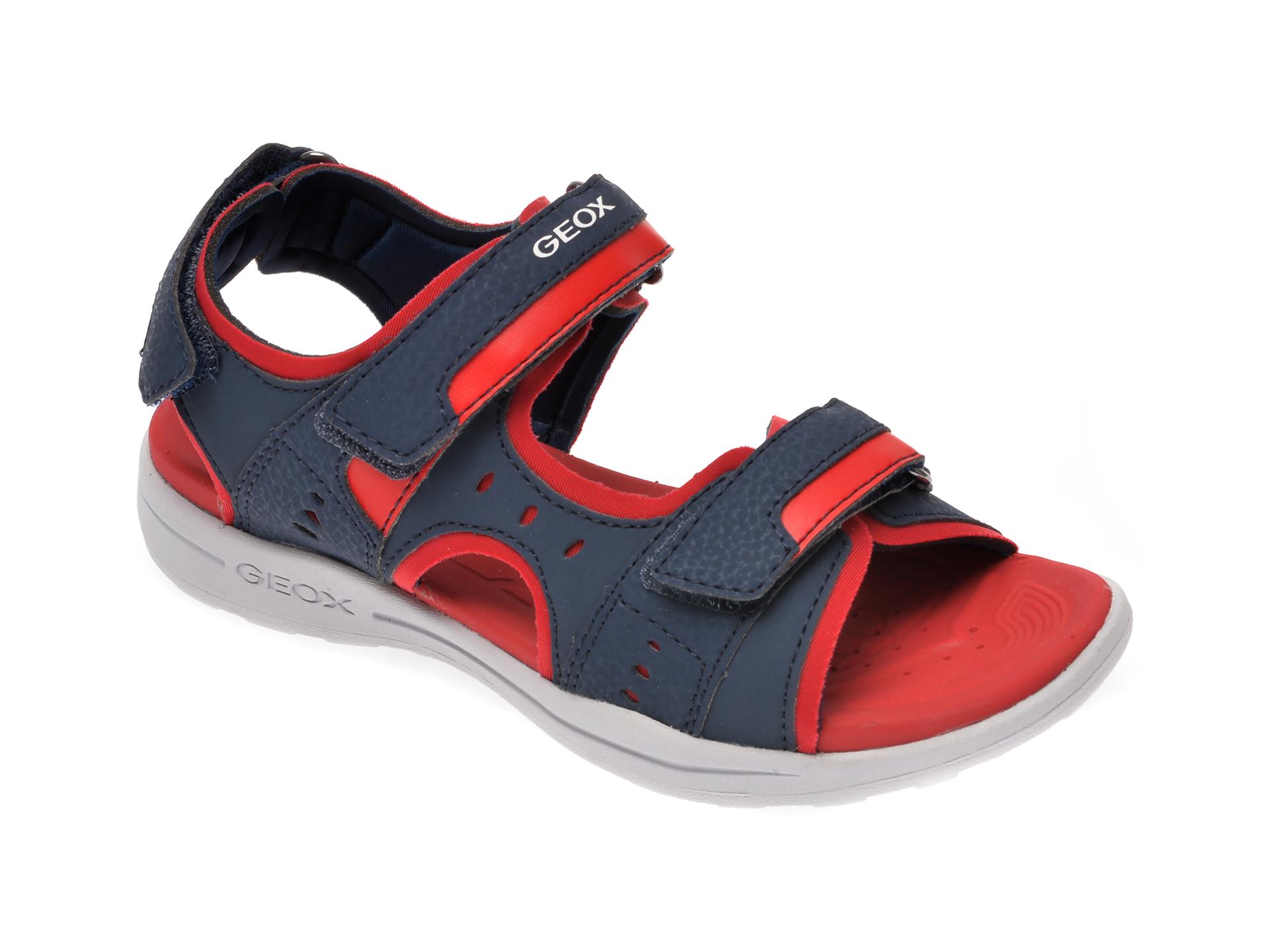 Sandale GEOX bleumarin, J025XA, din piele ecologica