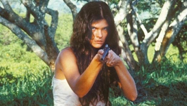 """Cristina Oliveira em cena da novela """"Pantanal"""", da extinta TV Manchete (Foto: Divulgação)"""