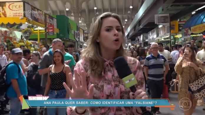 """Ex-BBB Ana Paula Renault no """"Vídeo Show"""" de ontem (10) (Foto: Reprodução/Globo)"""