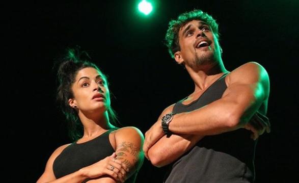 O casal Aline Riscado e Felipe Roque. (Foto: Reprodução/Instagram)