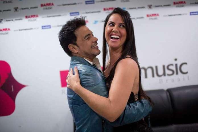 Graciele e Zezé di Camargo (Foto: Reprodução)
