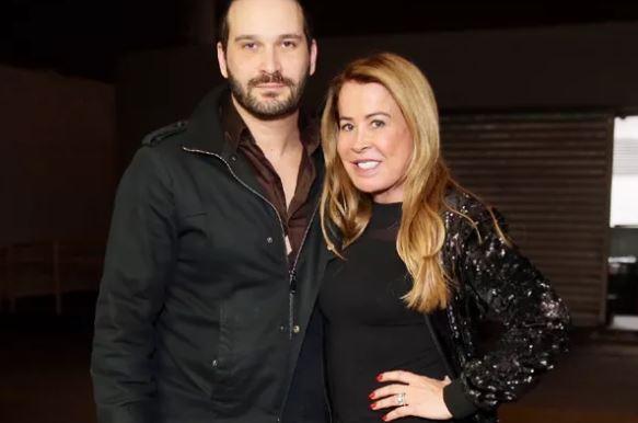 Zilu e o namorado Marco Ruggiero (Foto: AG News)