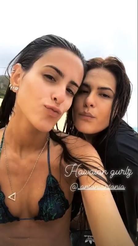 Antonia Morais e Ana Morais (Foto: Reprodução)