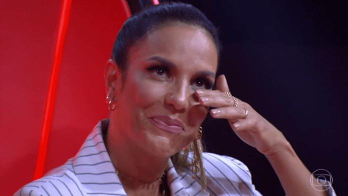 Ivete Sangalo no The Voice (Foto: Divulgação)