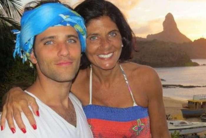 Lúcia Gagliasso e o ator global (Foto: Reprodução/Instagram)