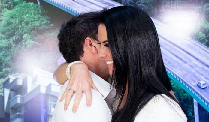 Zezé Di Camargo e Graciele (Foto: Francisco Cepeda/AgNews)