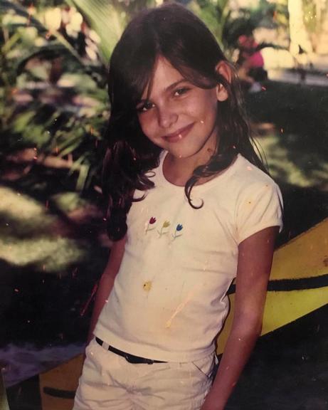 Mariana Goldfarb na infância (Foto: Reprodução/Instagram)