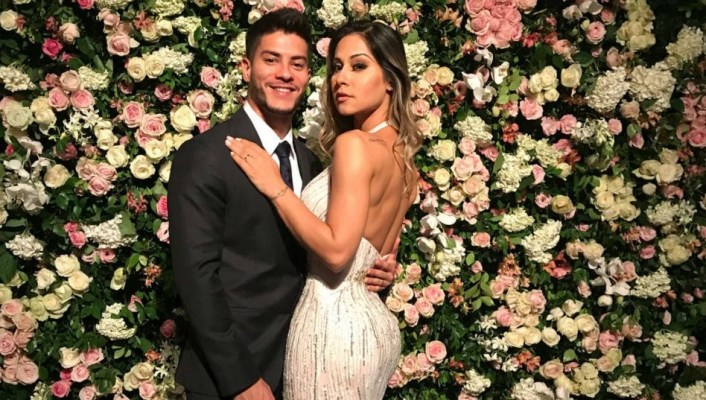 Mayra Cardi e ator da Globo, Arthur Aguiar (Foto: Reprodução/Instagram)