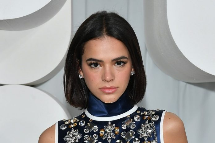 A atriz Bruna Marquezine (Photo by Dominique Charriau/Getty Images for miu miu)