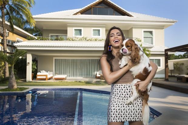 A linda mansão da cantora Anitta