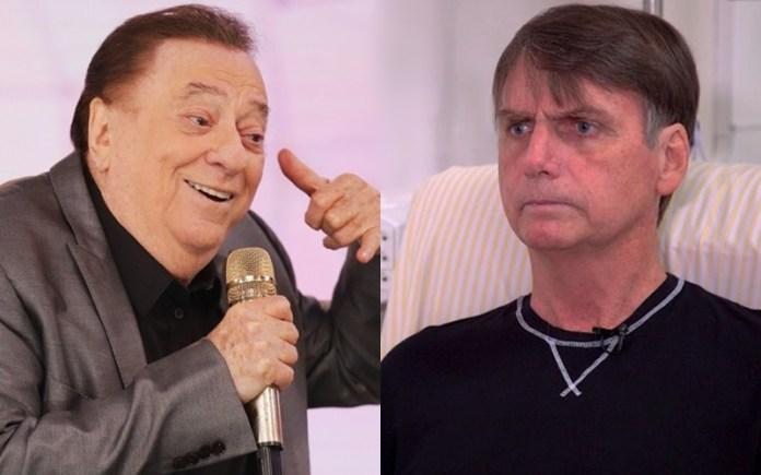 Raul Gil e Bolsonaro (Foto: Reprodução)