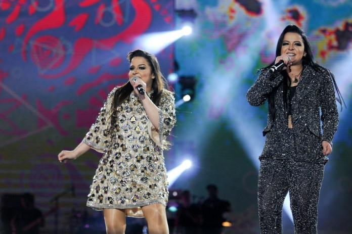 As cantoras Maiara e Maraisa (Foto: Globo/ Nélio Rodrigues)