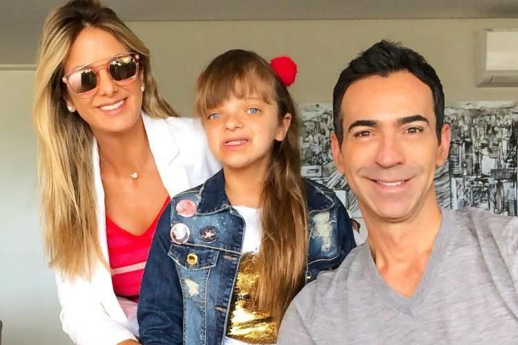 Ticiane Pinheiro, Rafinha Justus e Cesar Tralli (Foto: Reprodução)