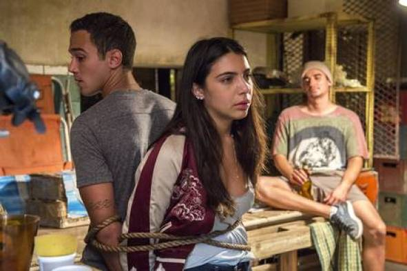 Pérola e Márcio são sequestrados em Malhação (Foto: Estevam Avellar/ Globo/ Divulgação)