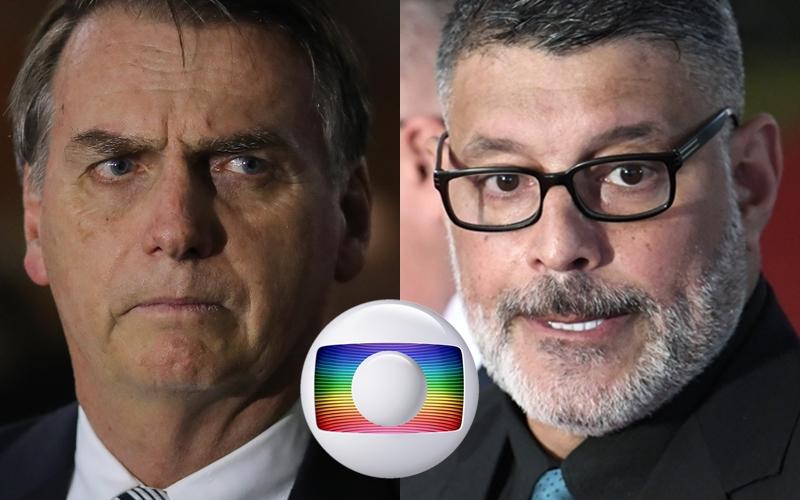 Bolsonaro e Alexandre Frota querem derrubar a Globo (Foto: Divulgação)