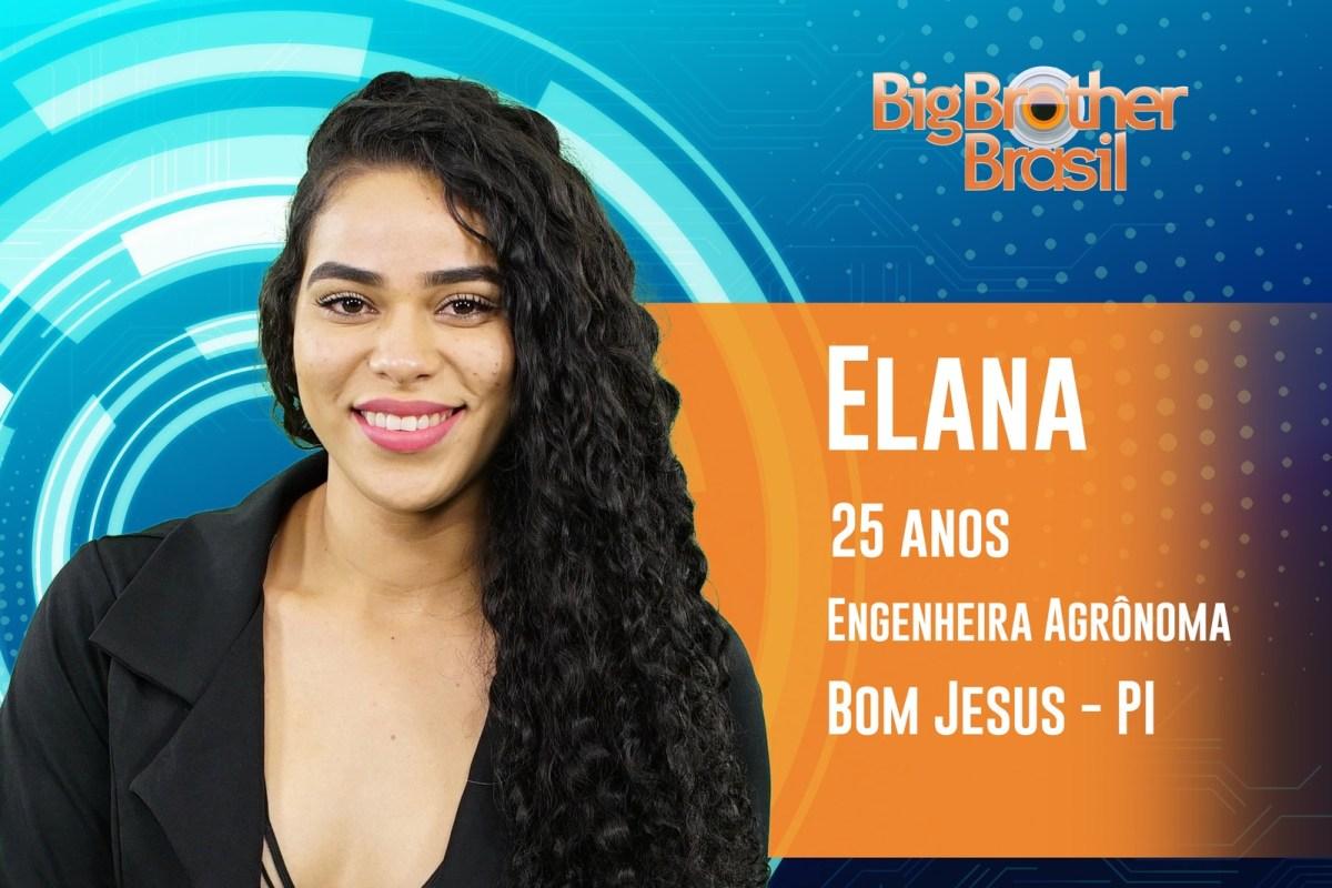 Elana tem 25 anos e estará no BBB19