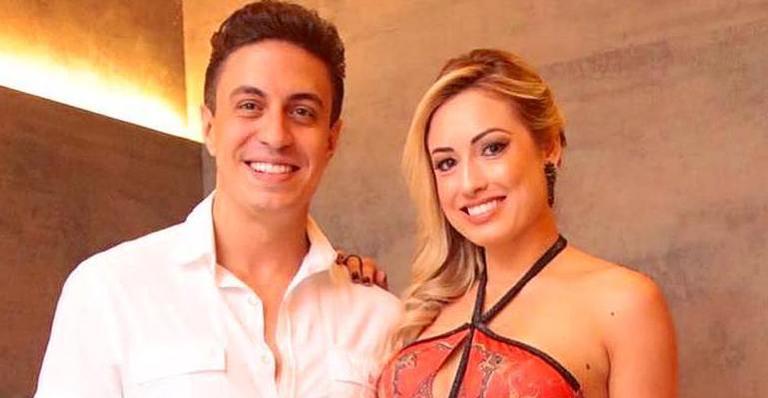 DJ Flavinho e a ex-BBB Jéssica (Foto: Reprodução)