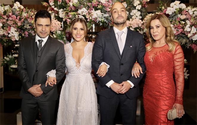 Zezé Di Camargo, Camilla Camargo, Leonardo Lessa e Zilu (Foto: Divulgação)