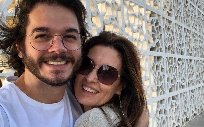 Fátima Bernardes e Túlio Gadêlha (Foto: Divulgação