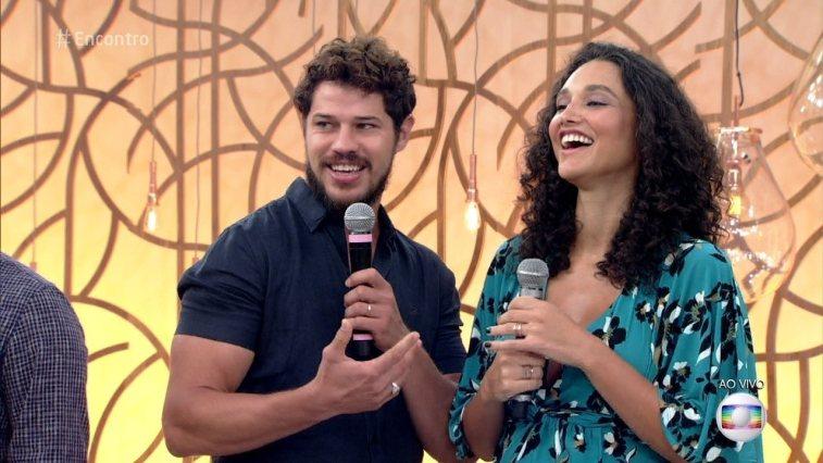 Os atores da Globo José Loreto e Débora Nascimento em polêmica separação. (Foto: Reprodução)