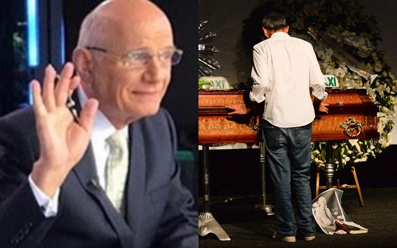 Ricardo Boechat à direita e despedida de Serginho Groinsman à esquerda (Fotos: Reprodução/AgNews)