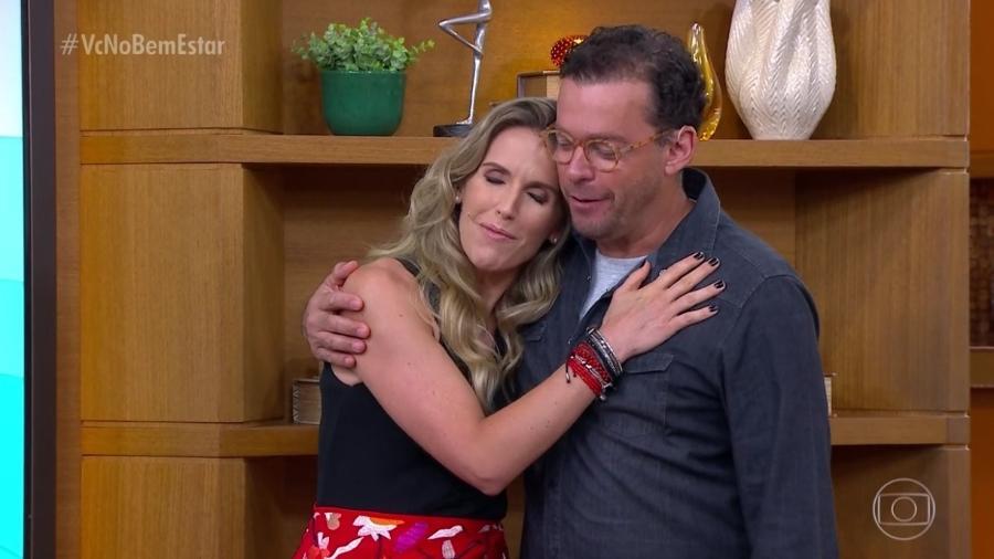 Mariana Ferrão e Fernando Rocha no Bem Estar (Foto: Divulgação/Globo)